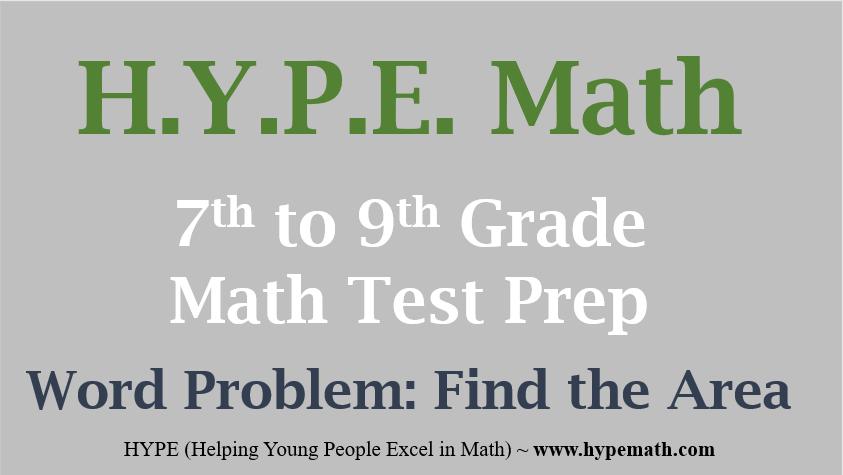 7th To 9th Grade Math Test Prep Multi Step Word Problem